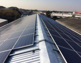 太陽光発電開始しました!